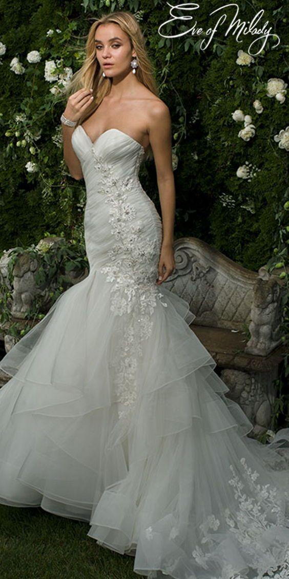 Eve of Milady   Wedding dresses, Mermaid wedding dress ...