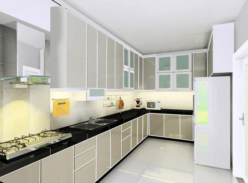 Info Desain Dapur Dan Ruang Makan Luas Elegan Mewah