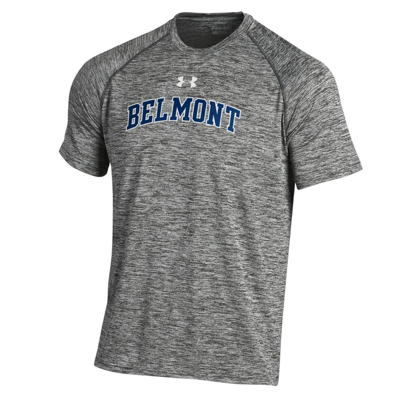 UA TWIST TECH TEE Mens tops, Belmont university, Fashion