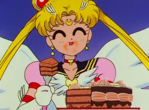 28 Times Cartoon Food Made You Hungrier Than Real Food Sailor Moon Gif Sailor Moon Aesthetic Sailor Moon