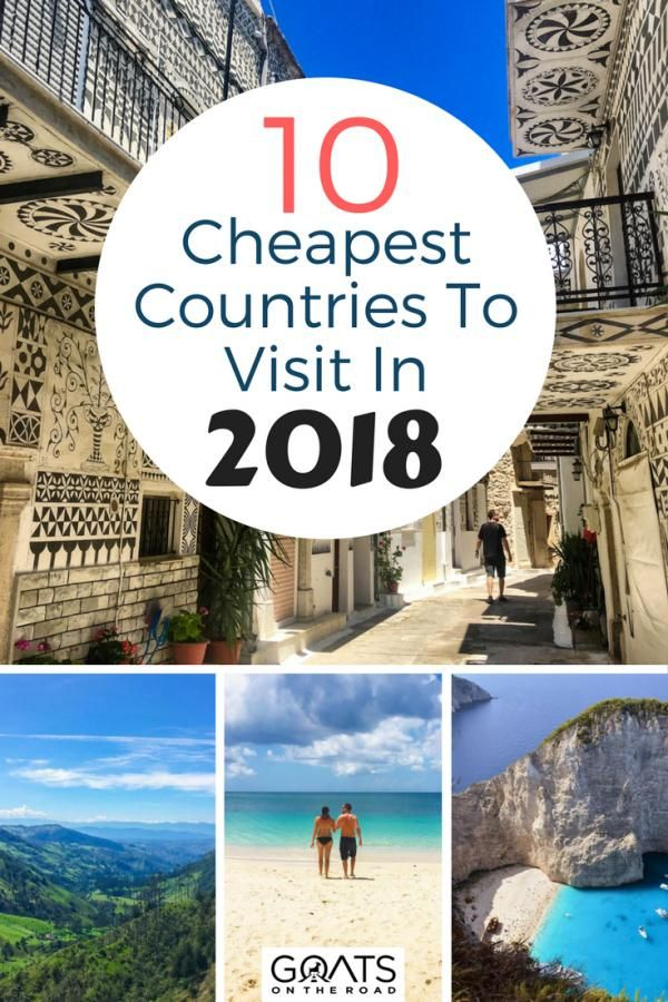 Are you planning a RTW trip or a gap year? Heres your budget travel guide to the cheapest countries in the world to help with your travel itinerary planning | #traveltips #travelwell4less #backpacking #bestintravel #wanderlust #dreamdestinations #amazingplaces #cheaptravel #cheapcountries #budgettravel #gapyear #europe #world #traveldestinations #travel #destinations #in #the #us