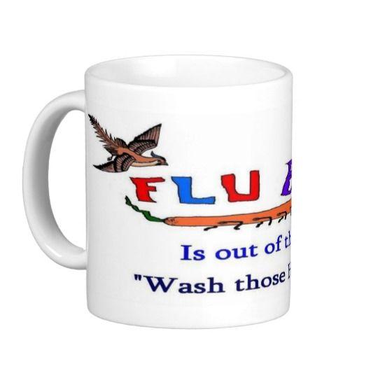 Bird Flu Loose Classic White Coffee Mug