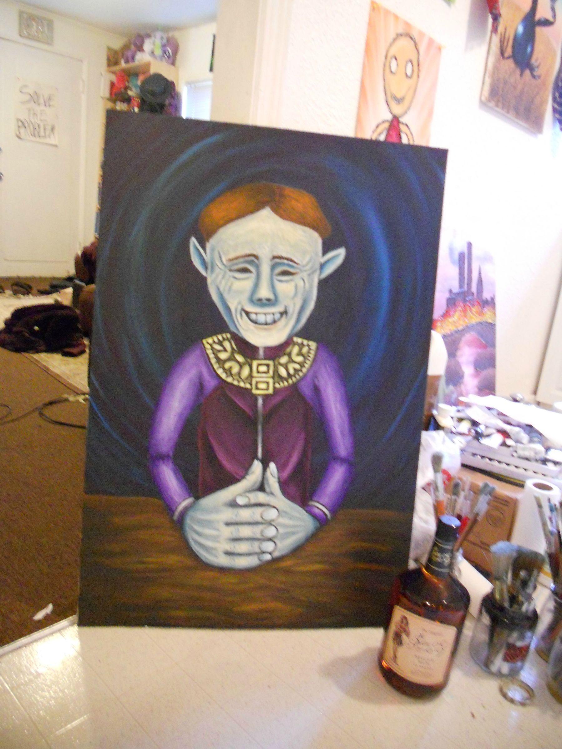 Happy Mask Salesman | Creepy pictures, Game art, Art