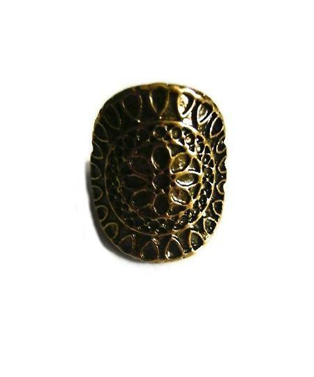 """Aztec Sun"" Ring"