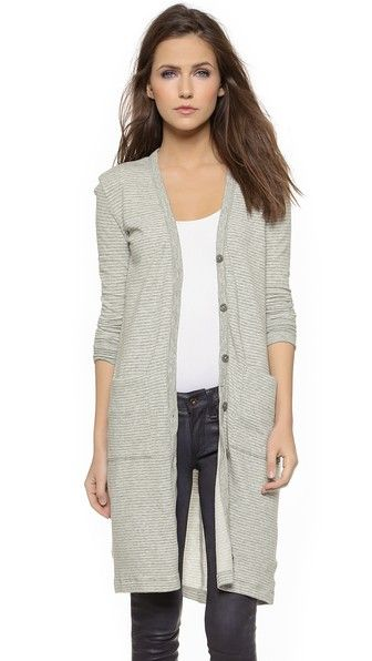 Long Terry Cardigan | James perse, Passion and Clothing