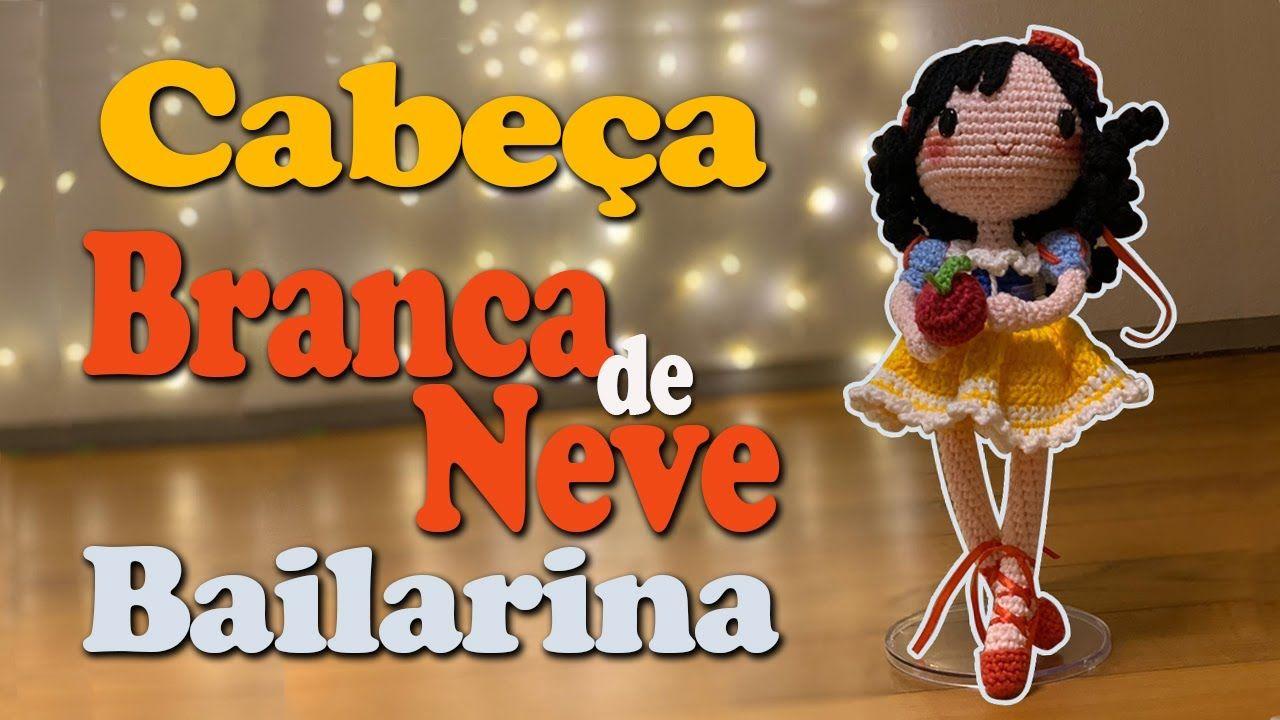 Branca De Neve Croche Amigurumi Tam 35cm Pronta Entrega - R$ 150 ... | 720x1280