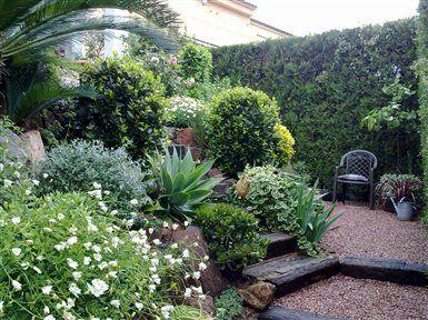 Un jard n mediterr neo foto principal jardines Plantas jardin mediterraneo