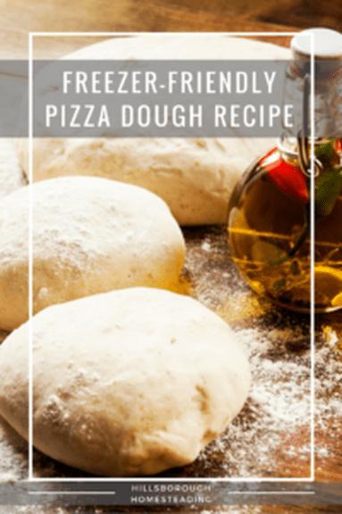 Freezer-Friendly Pizza Dough #pizzateig