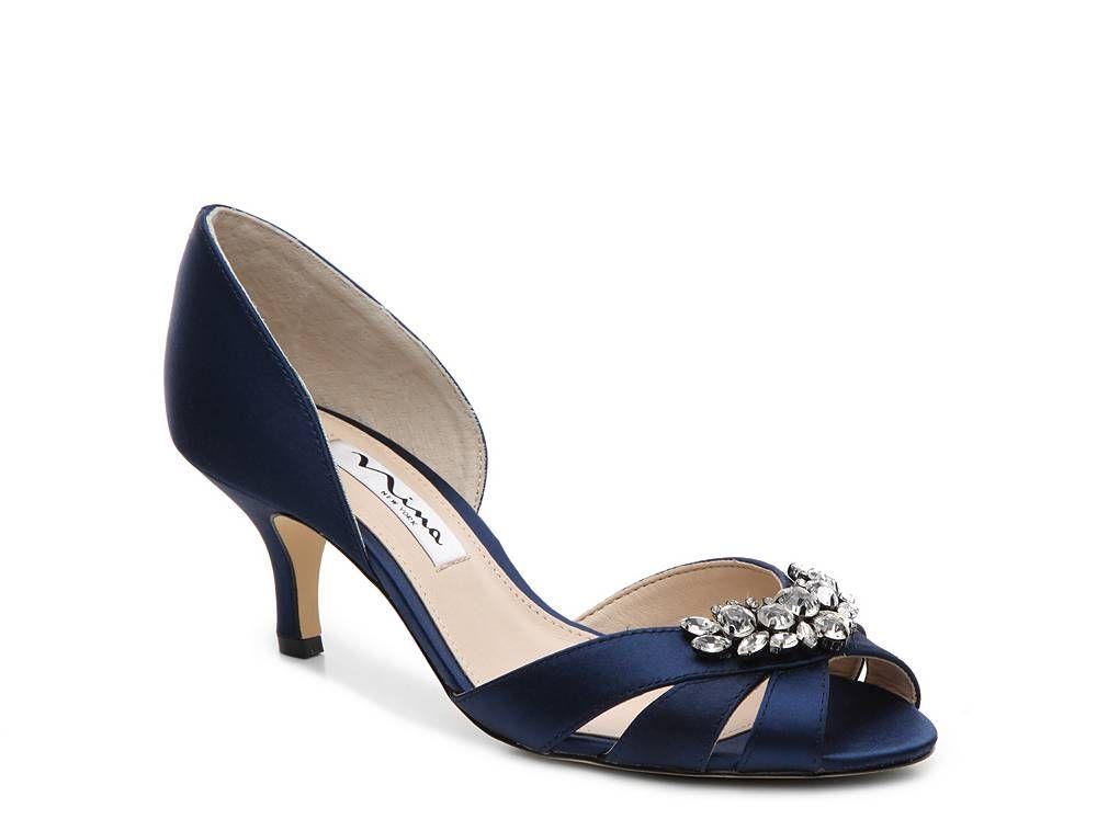 Nina cylinda pump pumps wedding shoe bag wedding shoes