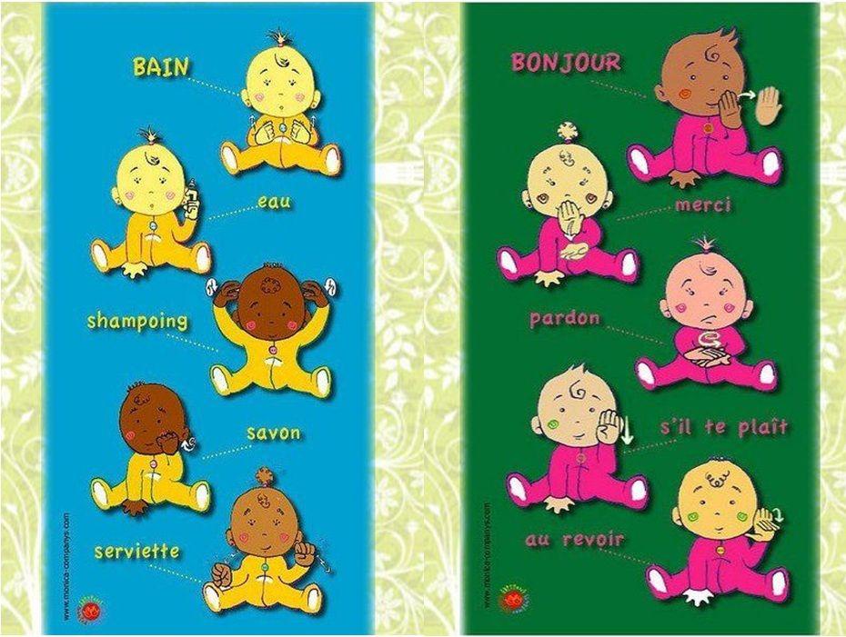 langue des signes | Baby sign | Pinterest | Montessori
