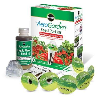 Aerogarden 6 Pod Heirloom Cherry Tomato Seed Kit In 2020 640 x 480