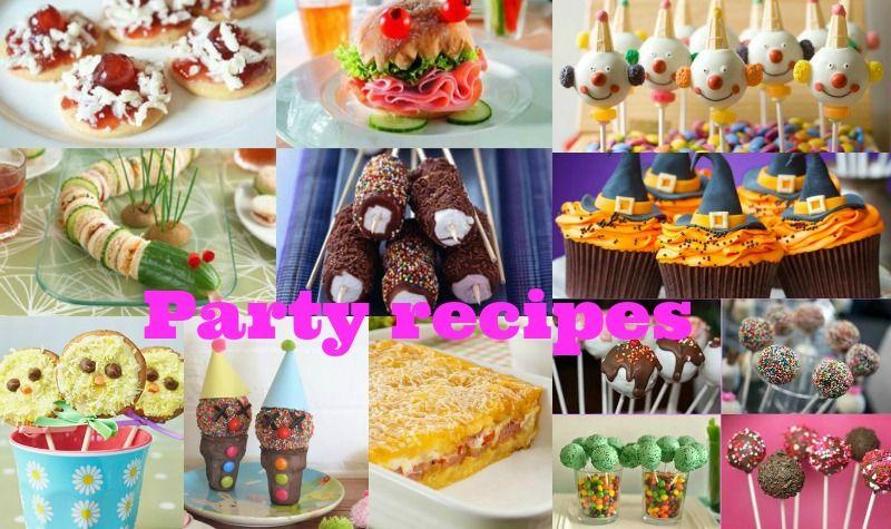 Επειδή μας ζητάτε συνεχώς ιδέες γιασυνταγές για πάρτυαποφασίσαμε να σας συγκεντρωσουμε πολλέςαπό τις συνταγές μας μαζί σε ένα άρθρο !