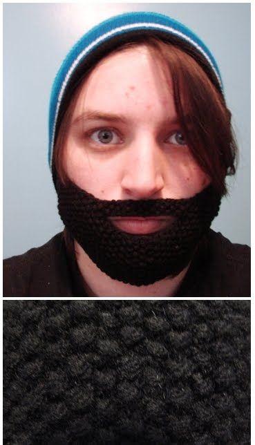 Talk Knitty to Me: Knit Beard Pattern! | Knitted beard ...