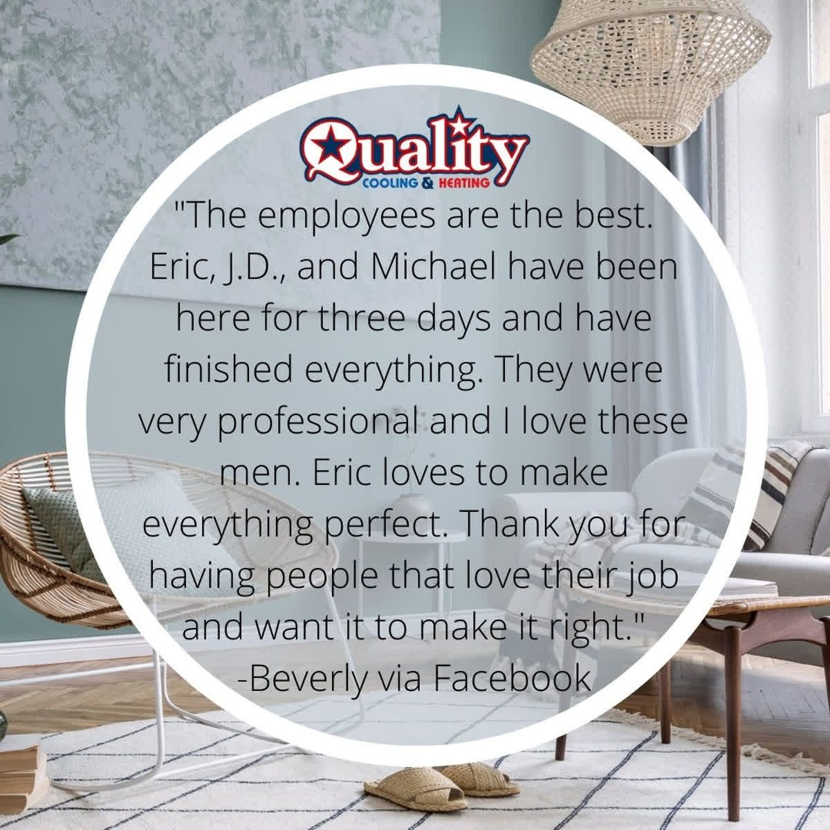 Thank You For The Review Beverly That S Love Heating Cooling