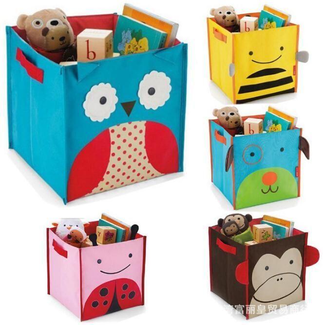 Comprar animal design kids cajas de almacenaje de juguetes de dibujos animados - Almacenaje juguetes ninos ...