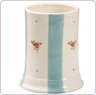 Gabriella Miller Flora Blue Stripe Beaker