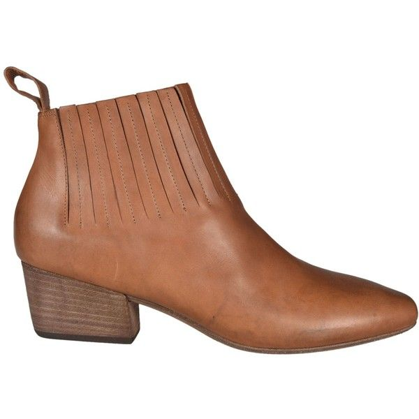 Marsall Bout Pointu Chaussures À Lacets - Marron LQWImp