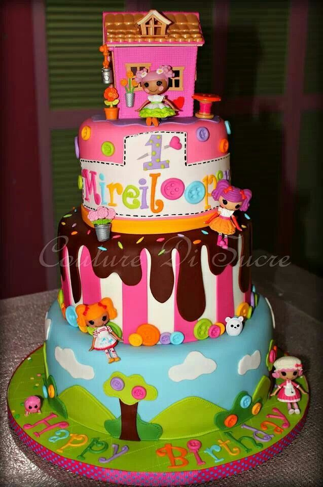 Lalaloopsy Cake With Images Childrens Birthday Cakes Party