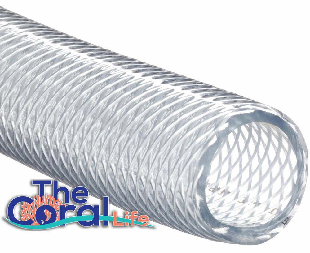 Other Fish and Aquarium Supplies 8444: Clear Nylon Braided Hose 3 ...