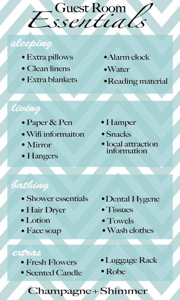 Pin By Emily Masten On Home Sweet Home Guest Room Essentials Guest Room Overnight Guests