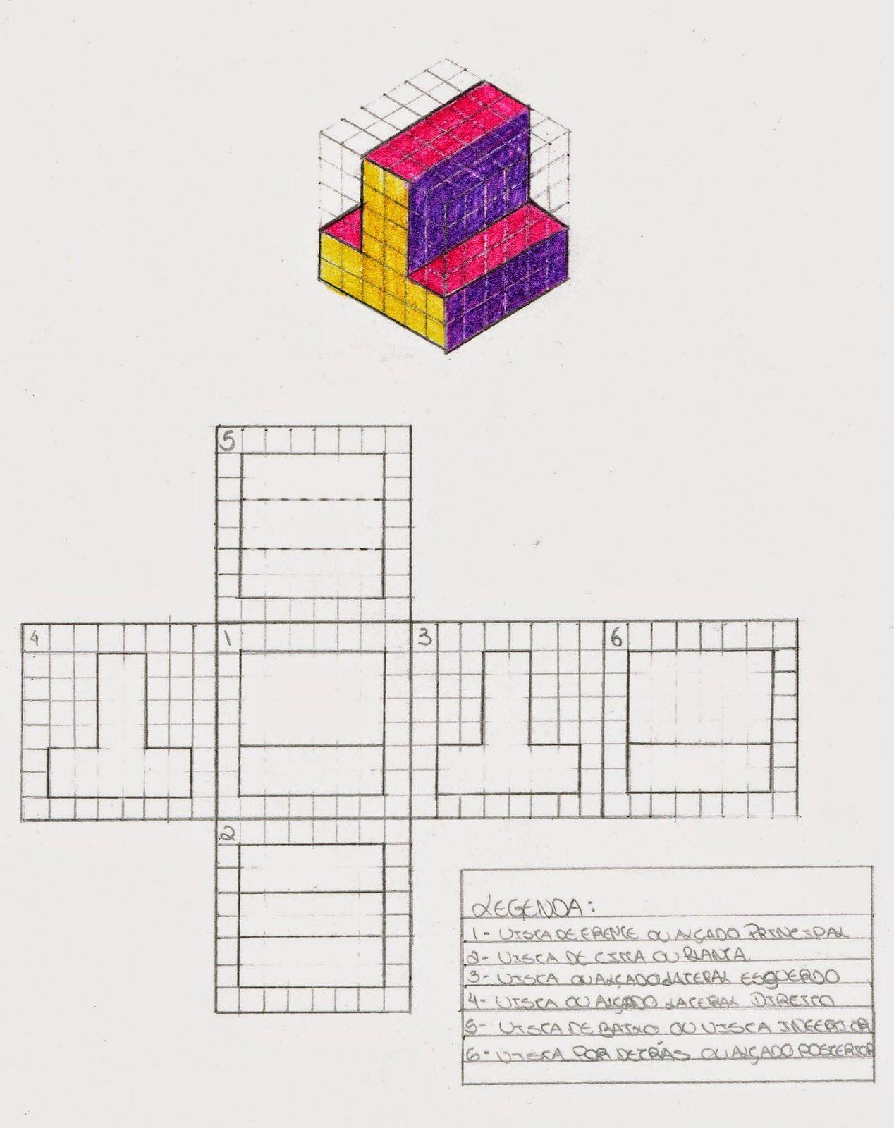 8º E Ana Carvalho Copia Jpg 1268 1600 Vistas Dibujo Tecnico Tecnicas De Dibujo Dibujo Tecnico Ejercicios