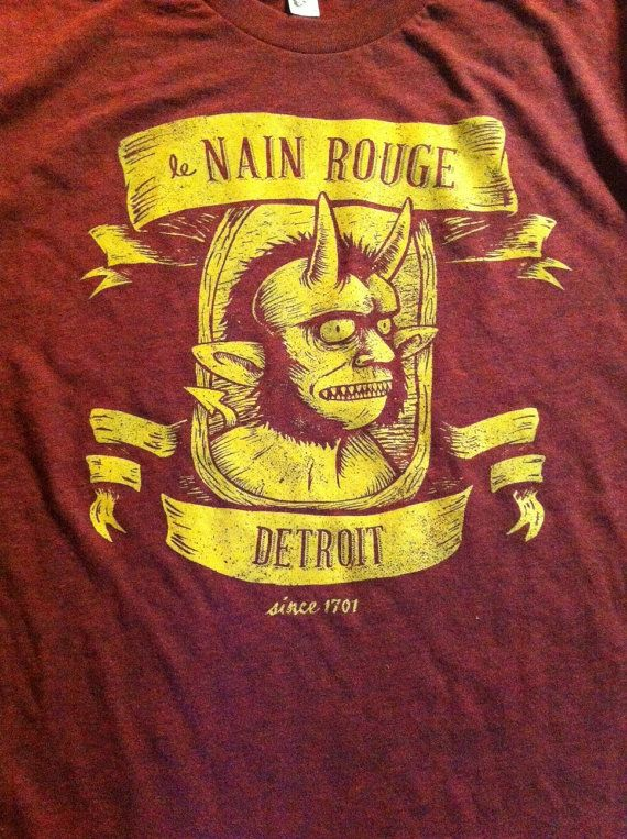 Marche du Nain Rouge (Red Dwarf) T-shirt by City Bird