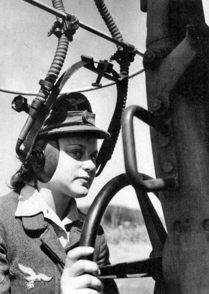 History Wars - Women in the Second World War. Photo of a young...