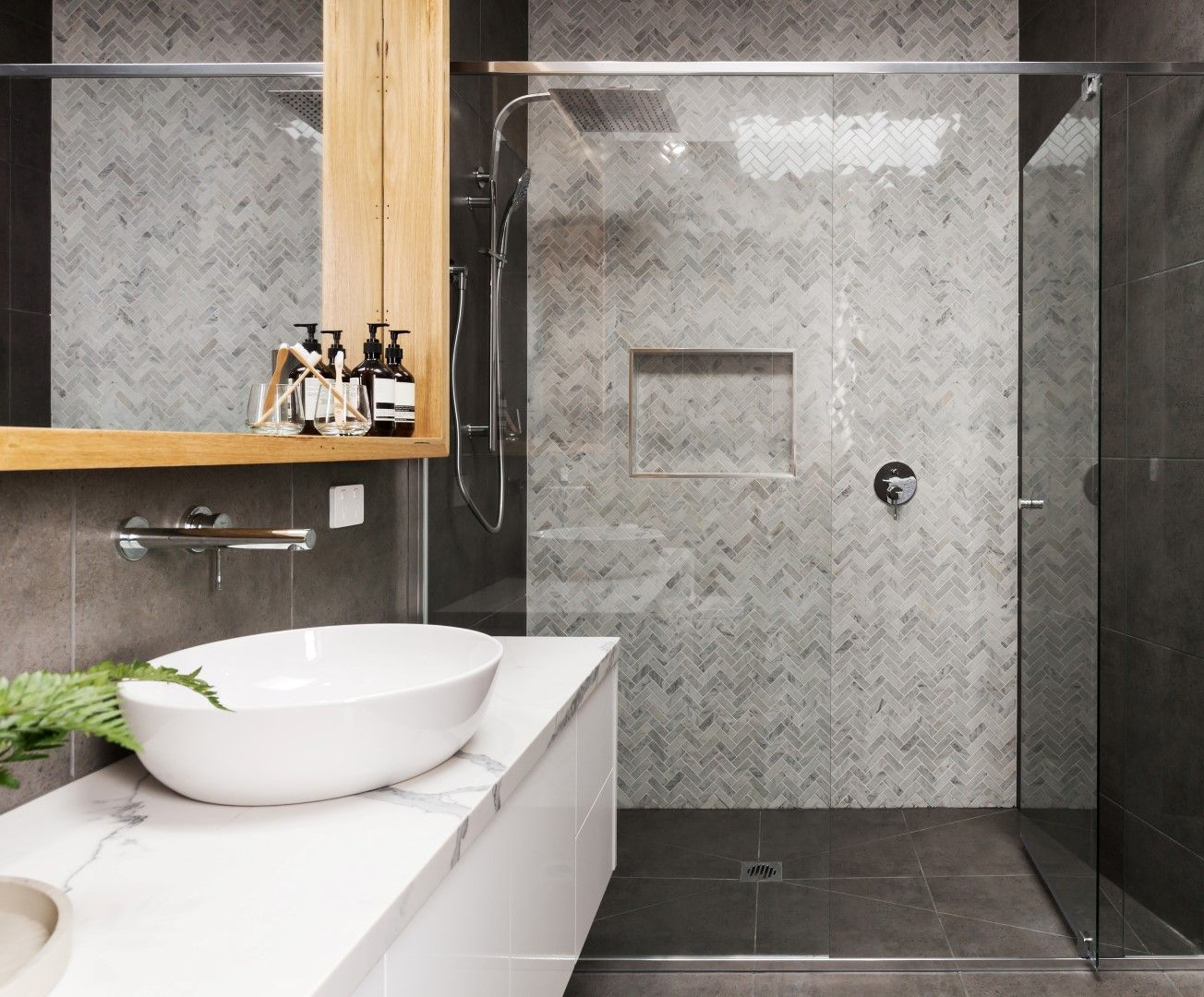 The top bathroom tile trends of badkamer