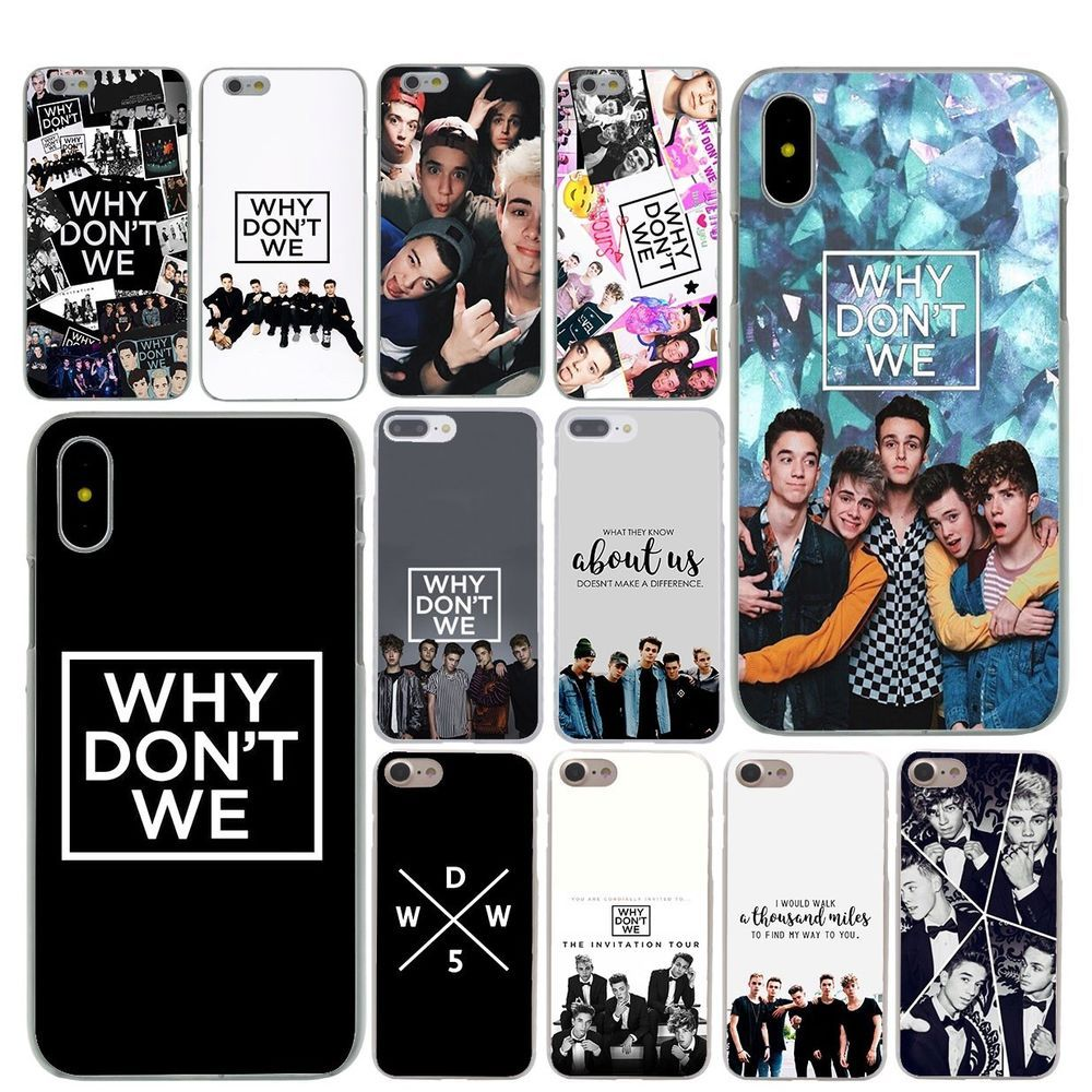 Why dont we boys telephone iphone case
