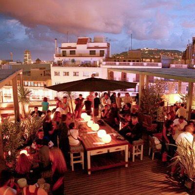 Terraza Hotel Pulitzer Barcelona Bars In Barcelona Best