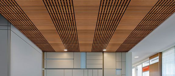 Techzone Optima Tegular Office Space Ceiling Design