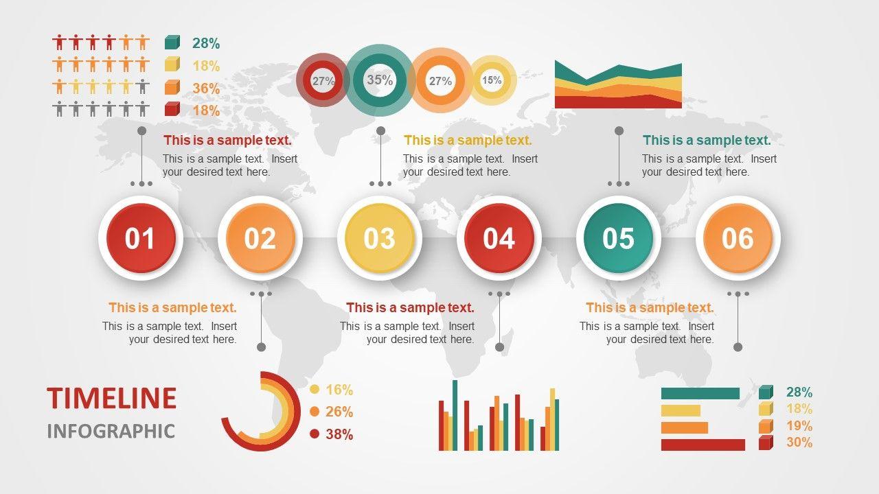 Colorful Timeline Design For Powerpoint  Timeline Design