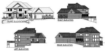 Plan 14419RK: Luxurious Craftsman Home Plan
