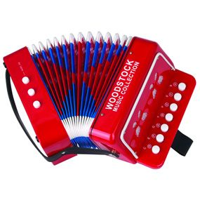 The Met Store -  Woodstock Percussion  Kid's Accordion