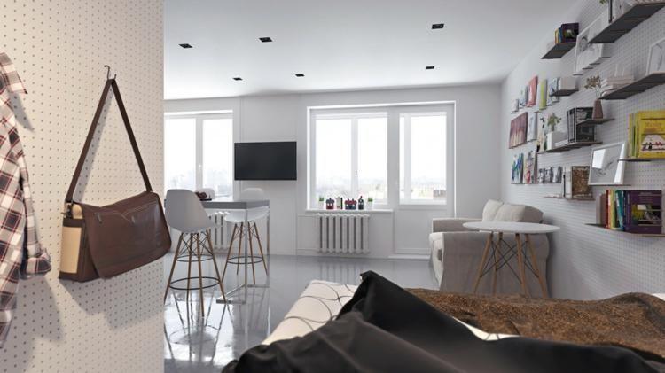 #Interior Design Haus 2018 Wohnungen Kleinen Raum Bis Zum Maximum Nutzbar  Gemacht #Hauseingang #