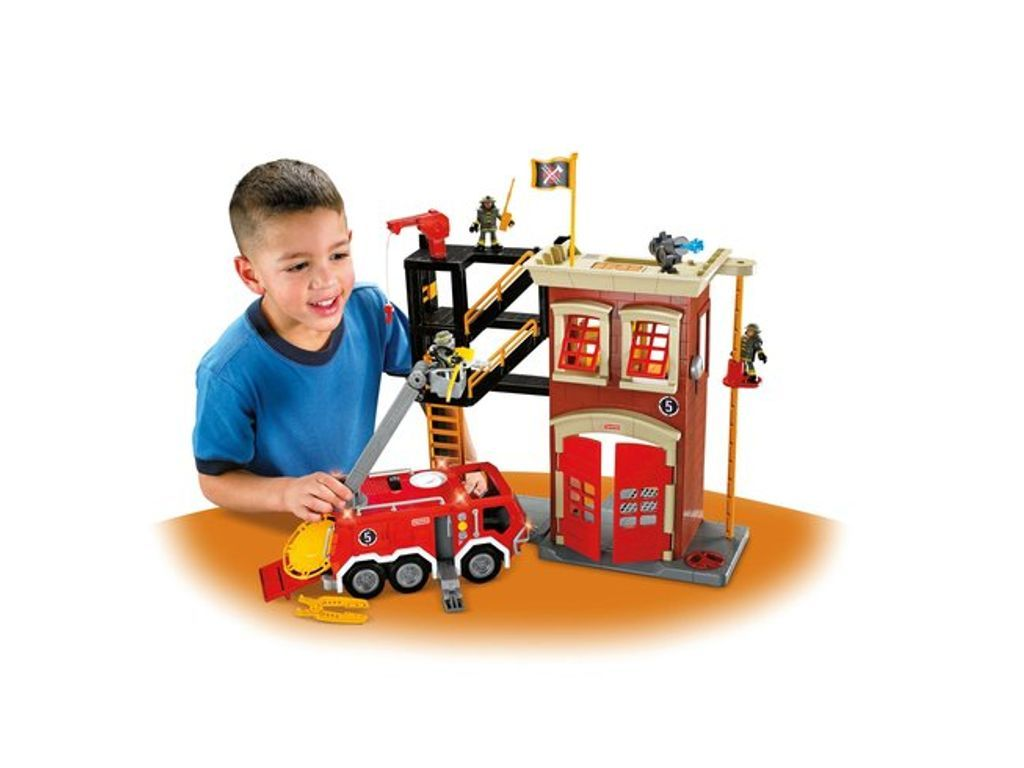 Fisher Price Imaginext Firestation Engine Fisher Price Toys