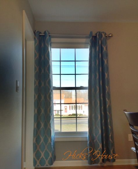 How To Hang Curtains When Your Window Is Against A Side Wall Hicks