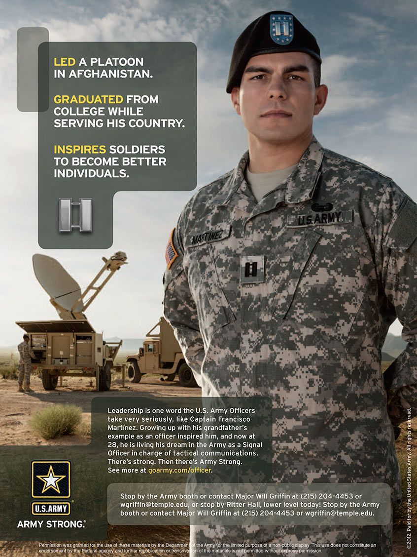 Army — 27 US Army ROTC Campaign · Special Forces · McCann ...