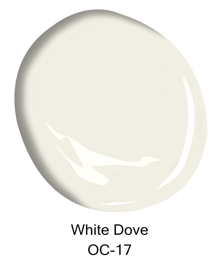 The top 10 best selling benjamin moore paint colors for White is all colors