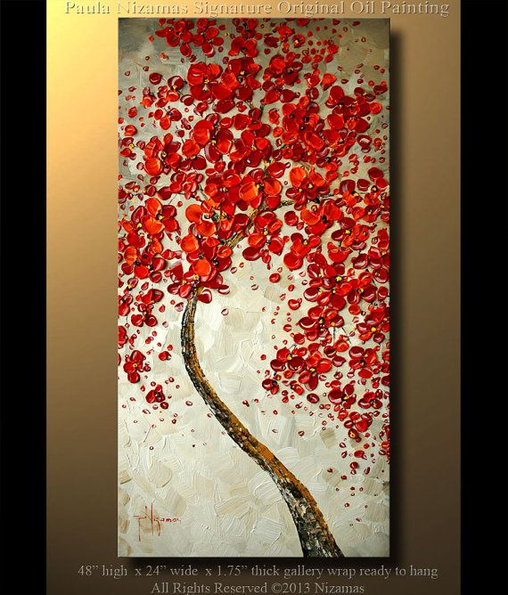 This+tree+is+blooming+for+you+48+Abstract+Contemporary+by+Artcoast,+$295.00