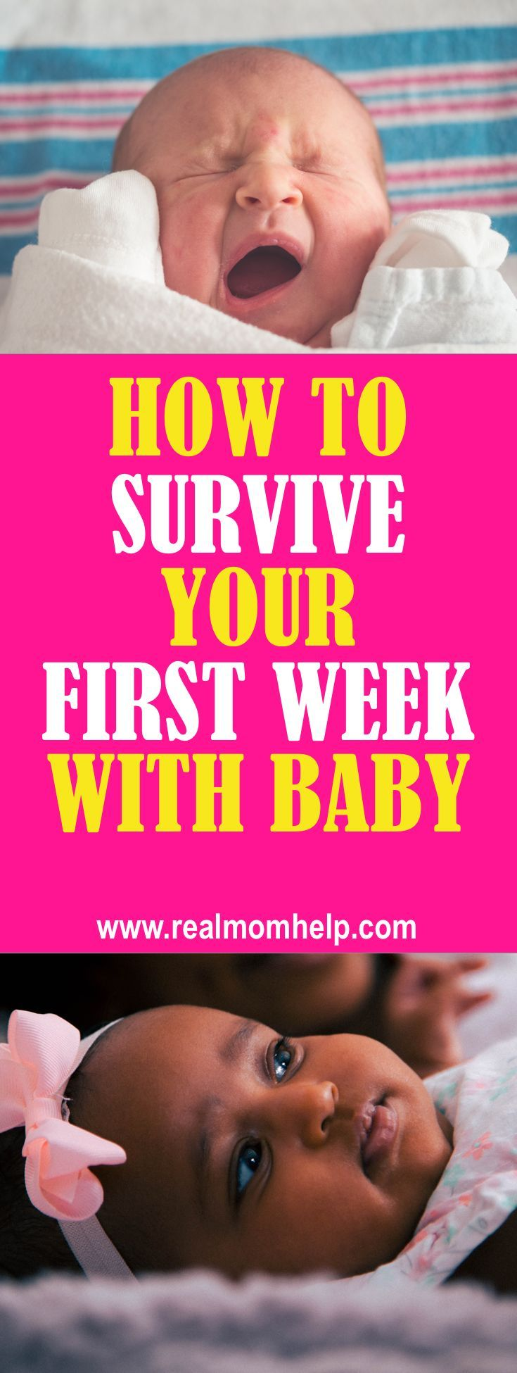 How to survive the first week after birth