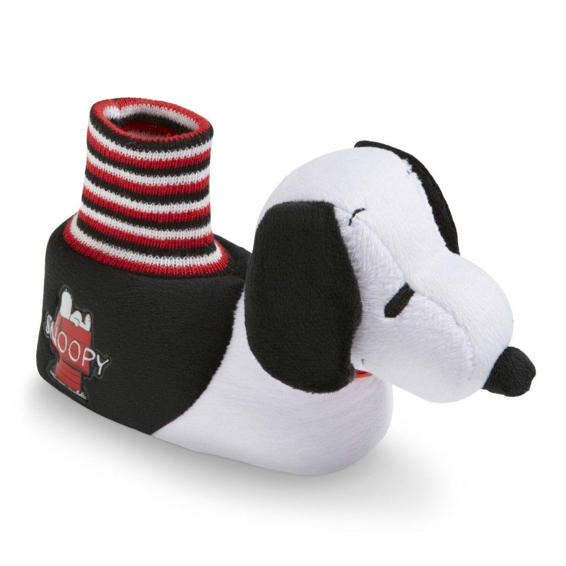d1e34be174 Toddler Boy s Snoopy Slipper Socks - Black White