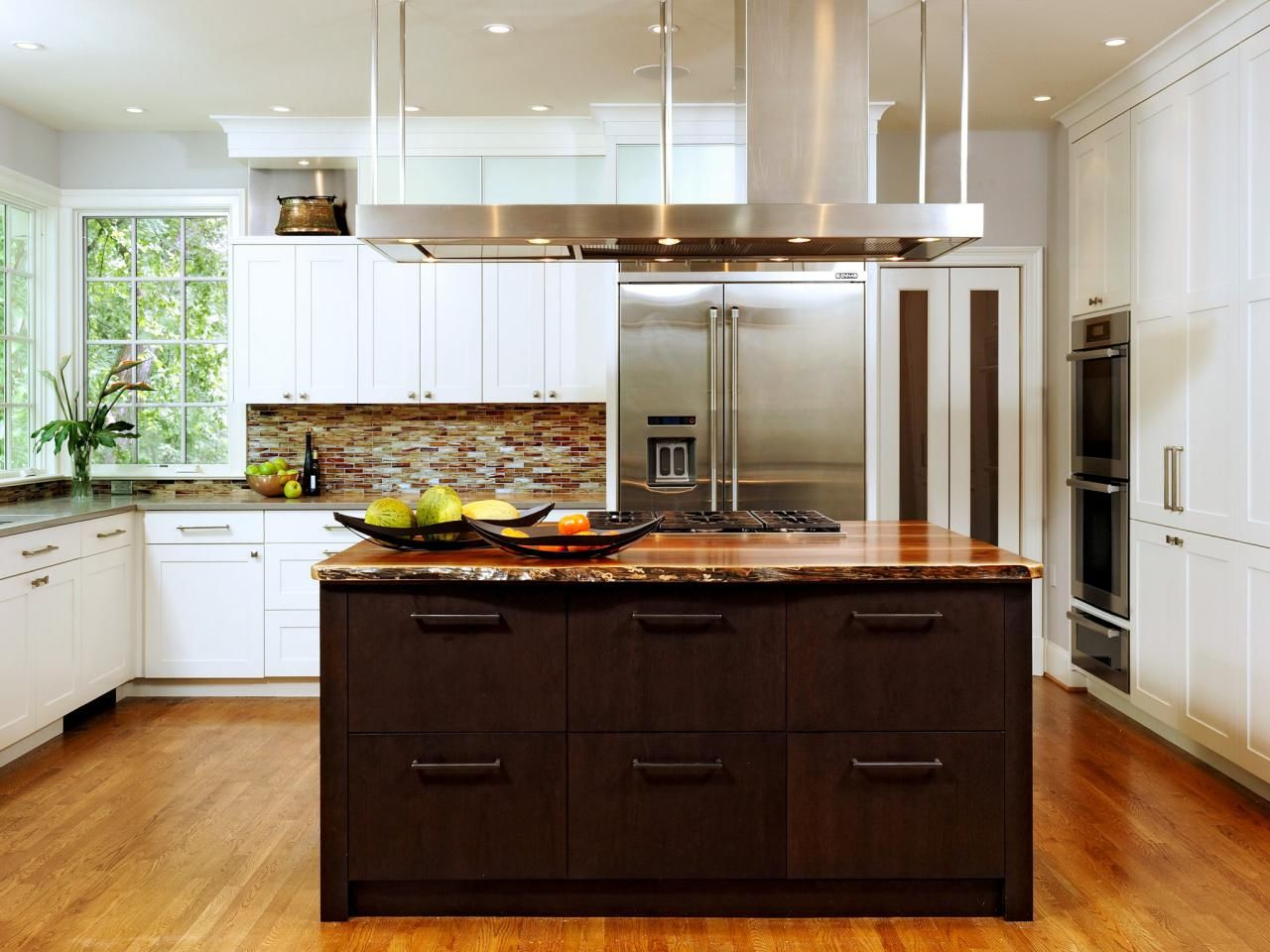 contemporary kitchen remodel with a rustic touch houseplans rh pinterest com