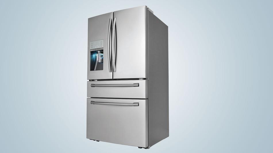 New samsung refrigerator has soda stream built in