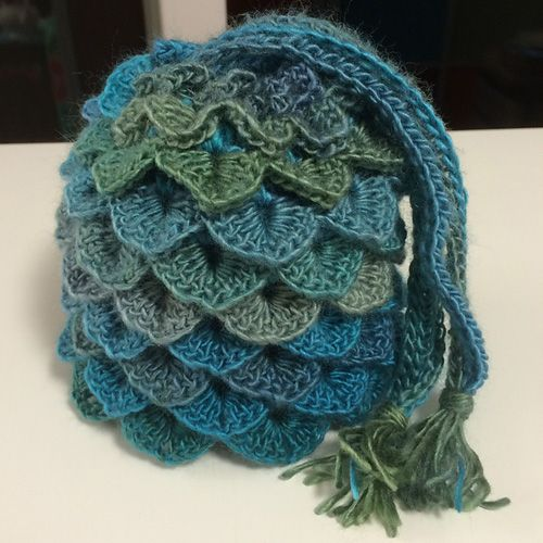 Dragon Egg Dice Bag - Free Pattern (Crochet For Children ...