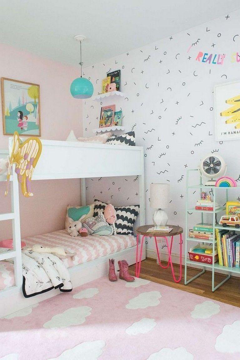 Small Ikea Girls Bedroom