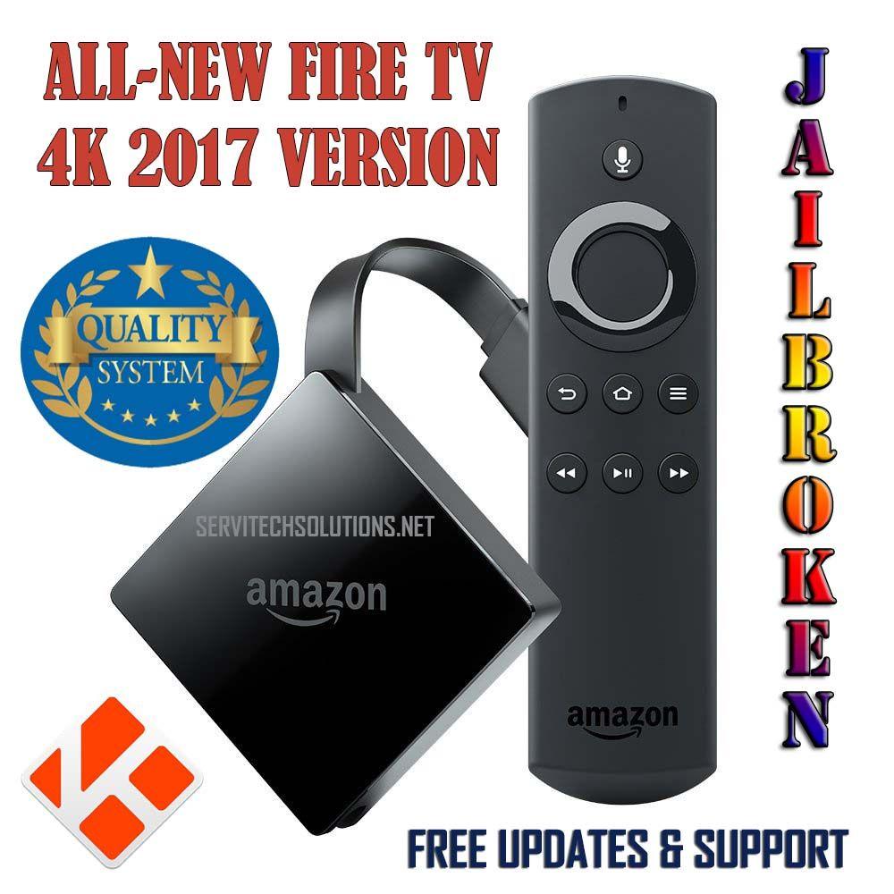 ALL-NEW FIRE TV 4K JAILBROKEN PENDANT EDITION UNLOCKED APKS