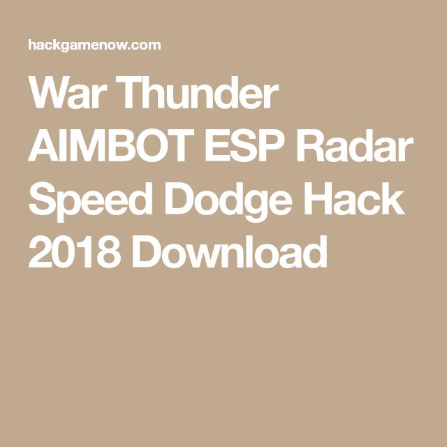 war thunder hacks 2018