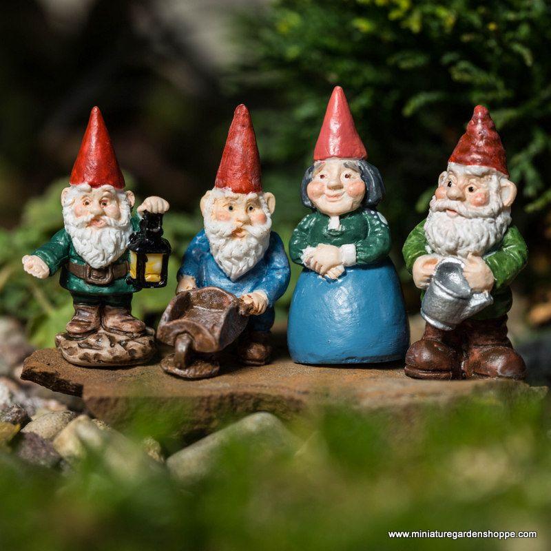 Tiny Miniature Garden Gnomes Http://shop.miniaturegardenshoppe.com/Ollie