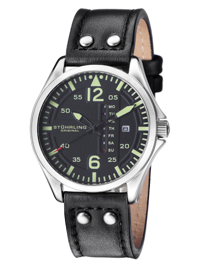 Stuhrling Original Men's Aviation Watch